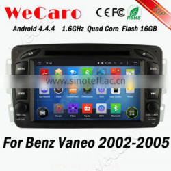 Wecaro WC-MB7507 Android 4.4.4 1080p car multimedia player for Benz vaneo 2002 - 2005 OBD2