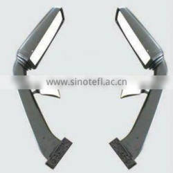Electrical or manual bus mirrors