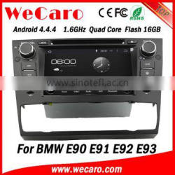 "Wecaro Android 4.4.4 car dvd player 7"" quad core for bmw e90 car multimedia player car stereo GPS 2005-2012"