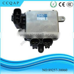 89257-30060 China manufacturer wholesale genuine denso auto parts computer cooling fan control module for toyota lexus