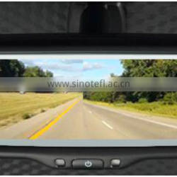 Car Mira cast Rear View Mirror with 7 Inch monitor full screen display mirror link with IOS9