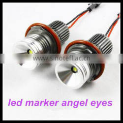 automotive accessory led car headlight E39 10W for BMW E60 E53 E39 led marker angel eyes