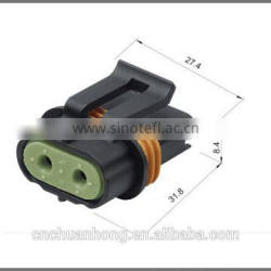 2 way female auto sealed connector 12033769 for Delphi