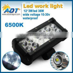 7INCH 36W CR-EE LED WORK LIGHT BAR 2520LM FLOOD BEAM 4X4 OFFROAD LAMP SPOT