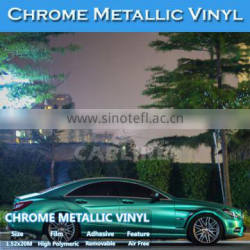 CARLIKE 1.52x20M 5x65FT Guarantee 3 Years Stretch Matt Chrome Metallic Car Cover Vinyl