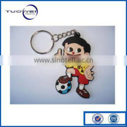 PVC Plastic Key Ring Prototype Vacuum Casting Manufacatures Maker