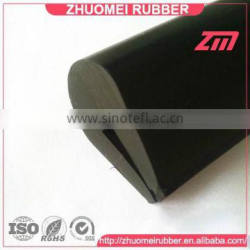 screen channel capping rubber extrusion
