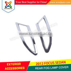 Chrome Rear Tail Fog Light Lamp Cover Trim 2pcs REAR FOG LAMP COVER FIT FOR F-O-C-U-S 2009-2012