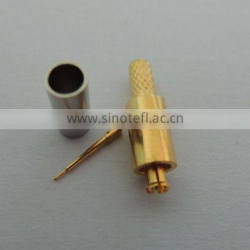 MC card male RF coaxial connector for RG174 RG316 cable netcard
