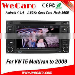 """Wecaro 7"""" WC-VU7006 Android 4.4.4 car multimedia system touch screen for vw multivan car radio player android mirror link"""