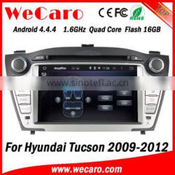 Wecaro WC-HIX7013 Android 4.4.4 car dvd player touch screen for hyundai tucson dvd car radio WIFI 3G GPS 2009-2012