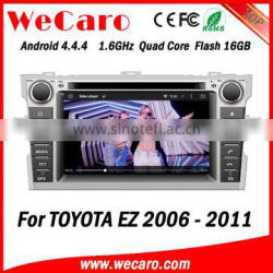 Wecaro WC-TE7029 Android 4.4.4 WIFI 3G car radio navigation system for Toyota EZ Car DVD Player 2006 2007 2008 2009 2010 2011