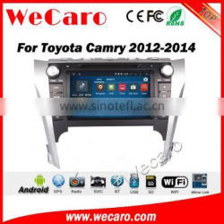 Wecaro WC-TC8016 android 5.1.1 car radio gps for toyota camry 2012-2014 touch screen car dvd player Bluetooth WIFI 3G Playstore