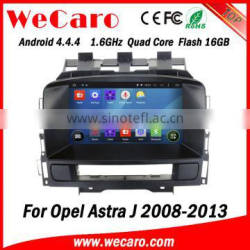 Wecaro WC-OU7882 Android 4.4.4 car multimedia system in dash android car dvd for opel astra j with gps radio gps A9 cpu Quality Choice