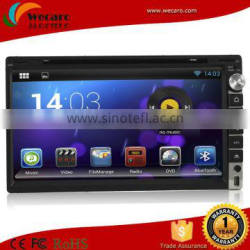 Wecaro 6.5 Inch Tft Lcd Double Din Car Dvd Player With 3G Wifi Navigation,ipod,stereo,radio,usb,BT