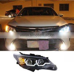 12V 35W Car LED Light Headlights For Toyota Camry 2014 2015 Head Lights