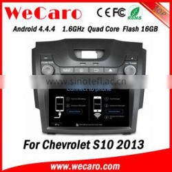 "Wecaro WC-CS8065 8"" Android 4.4.4 car dvd player touch screen for chevrolet s10 orlando car navigation radio gps tv tuner 2013"