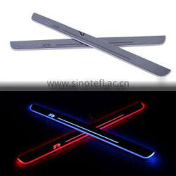 2 Pcs/Set Car LED Flash Door Sills Moving Scuff Plate Light Panel Front Door For VW Volkswagen Scirocco R 2009-2015 Quality Choice