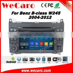 Wecaro WC-MB7682 android 5.1.1 car multimedia for mercedes for benz b200 B class W245 2004-2012 car dvd gps navigation system