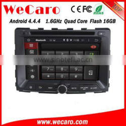 Wecaro WC-SY7070 Android 4.4.4 car multimedia system in dash for ssangyong rexton car audio radio gps 1.6 ghz cpu 2014 2015