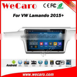 Wecaro WC-VL1036 10.2 inch android 4.4/5.1 car stereo audio for vw lamando car dvd 2015 + Wifi and 3G GPS Radio RDS