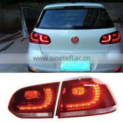 LED Rear Lights Taillights For Volkswagen Golf 6 2011 2012 2013