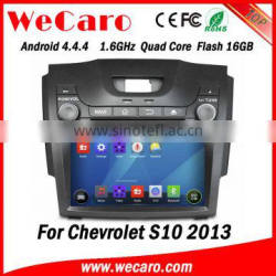 "Wecaro WC-CS8065 8"" Android 4.4.4 car dvd player touch screen for chevrolet s10 car multimedia system android playstore 2013"