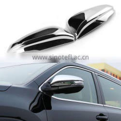 2Pcs/Set Car Rearview Mirror Cover For Toyota Highlander 2014 2015 ABS Trim Decoration Accessories