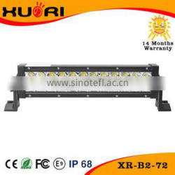 Auto Parts For Jeep Wrangler Accessories 72W led light bar Straight 4x4 led lights