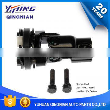 Auto Chassis Parts U-Joint For Kia , High Quality Steering Shaft OEM:0K52Y32550