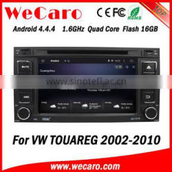 Wecaro WC-VU7006 Android 4.4.4 car multimedia system in dash for vw touareg android car dvd android bluetooth 2002 - 2010
