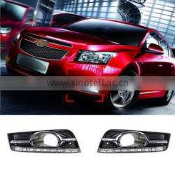 ABS 9 LED Car Daytime Running Lights For Chevrolet Cruze 2009 2010 2011 2012 2013