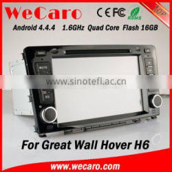 Wecaro WC-GW8702 Android 4.4.4 gps 1080p for Great Wall Hover H6 car dvd player OBD2