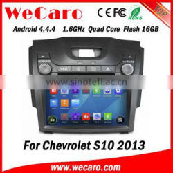 "Wecaro WC-CS8065 8"" Android 4.4.4 car dvd player quad core car dvd gps for chevrolet s10 stereo mirror link 2013"