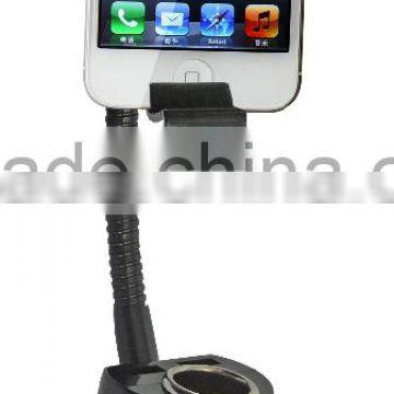 Charger and plastic Material car phone holder with Cigarette Lighter
