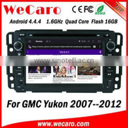 Wecaro WC-GU7036 Android 4.4.4 gps navigation 1080p for gmc yukon car radio android 2007 - 2012 OBD2
