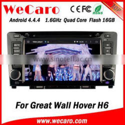 Wecaro WC-GW8702 Android 4.4.4 car dvd player 1080p for Great Wall Hover H6 navigation Wifi&3G