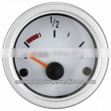 52MM WATERPOOF FUEL LEVEL GAUGE FOR YACHT/WITH STAINLESS RIM