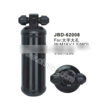new Low price Small steel cylinder ac parts receiver filters ,stainless steel perforated cylinder filter