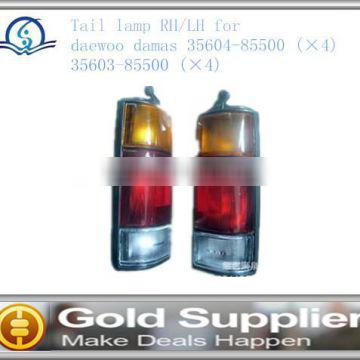 Auto parts Brand New TAIL LAMP-RH-LH 2000 for DAEWOO DAMAS OEM 35604-85500 -- 35603-85500