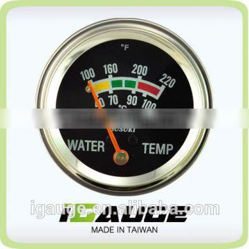 52mm Susuki Chrome color Mechanical Water Temp Gauge