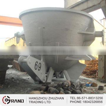 Customized casting steel slag pot for cement plant
