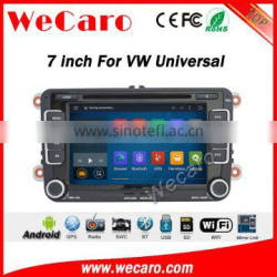 """Wecaro WC-VU7008 7"""" android 5.1.1 for vw car radio android multimedia system phone mirroring"""
