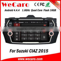 Wecaro WC-SC8075 Android 4.4.4 car dvd player touch screen 2 din car dvd gpsfor suzuki ciaz android A9 cpu 2015