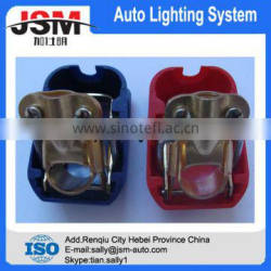 spring type couple automotive red &blue battery terminal with cap