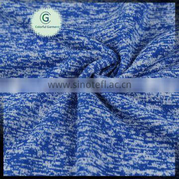 NEW arraving 100 polyester HACCI FLEECE FABRIC cationic knitted fabric FOR LEGGINGS