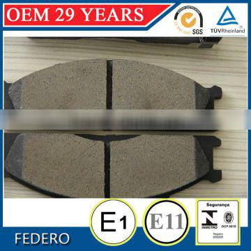 China factory D33 ceramic brake pad for Lincoln