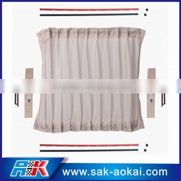 polyester blinds 50cm polyester Vip Car Curtain