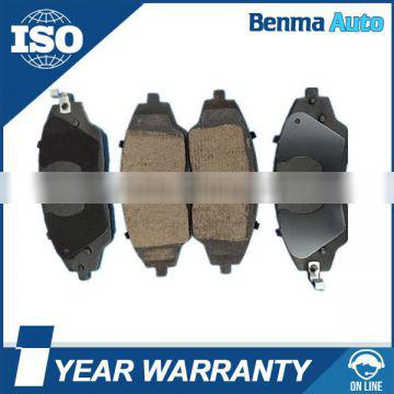 D1702 Front Brake Pads for Chevrolet