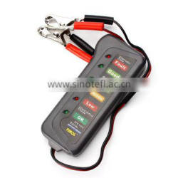 2016 hot Car Digital Battery Tester Auto Alternator Tester with 6 LED Lights Display Car Styling Battery Diagnostic Tool